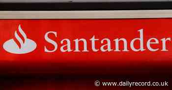 Santander down in Scotland as customers unable to use ATMs and online banking - Daily Record