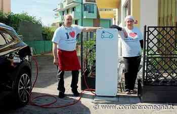 Longiano, la piadina... ti dà la carica: i gestori comprano una colonnina per le auto elettriche - Corriere Romagna