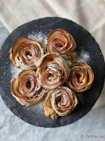 Receta de rosas de manzana y hojaldre |... - Caretas