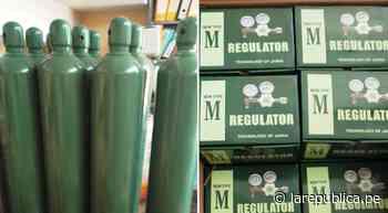Lambayeque: Municipio de Mochumí compró 10 balones de oxígeno medicinal - LaRepública.pe
