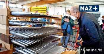 Zeuthen: Steinmeyer-Orgel wird bei Schuke restauriert - Märkische Allgemeine Zeitung