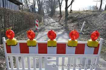 Immelborn: Baustopp, bis Umleitung verbessert ist - inSüdthüringen - inSüdthüringen