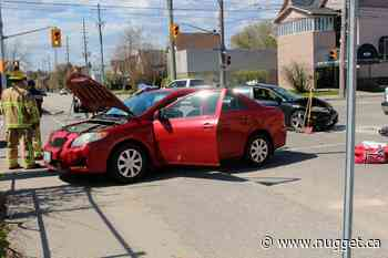Crash injures at least one - The North Bay Nugget