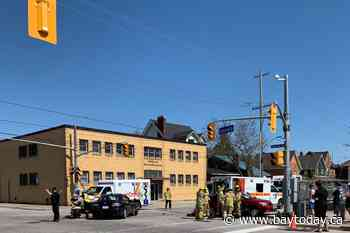 Avoid Cassells - Worthington on your drive home today. Accident scene - BayToday.ca
