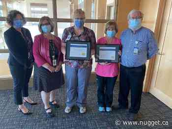 Two NBRHC registered nurses receive leadership award - The North Bay Nugget