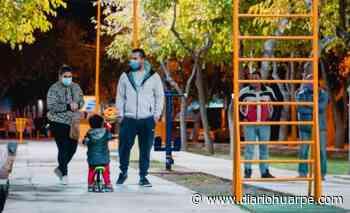 Vecinos de Santa Lucía ya cuentan con un nuevo playón deportivo y cultural - Diario Huarpe