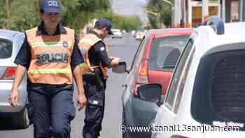 Persecución en Santa Lucía: no tenían los papeles de la moto y quisieron huir - Diario 13 San Juan