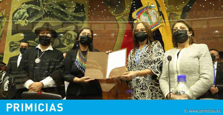 Guadalupe Llori agradece el apoyo de Lasso y ofrece gobernabilidad - Primicias