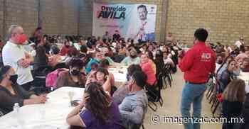 Elecciones Zacatecas 2021: Osvaldo Ávila continúa recorriendo Guadalupe con sus propuestas - Imagen de Zacatecas, el periódico de los zacatecanos