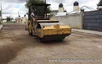 Pavimentación en Guadalupe Victoria no terminará en la Casa Pastoral - El Sol de Durango