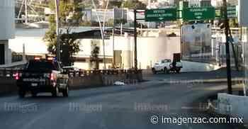 Muere atropellado un adulto mayor a la altura de El Chaparral - Imagen de Zacatecas, el periódico de los zacatecanos