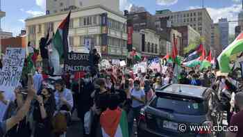 Demonstrations held across Canada amid escalating conflict between Israel and Palestinians