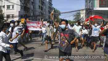 Myanmar army battles anti-coup rebels - Western Advocate