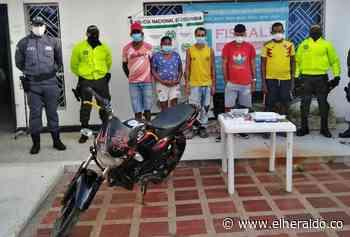 Golpe a traficantes de drogas ilícitas en Coveñas - EL HERALDO