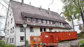 Mitten in Dietingen - Mit Haus neben der Kirche verschwindet ein markantes Bauwerk - Schwarzwälder Bote