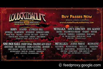 Louder Than Life 2021 Lineup (Metallica, NIN, Korn, Judas Priest, Snoop Dogg, more)