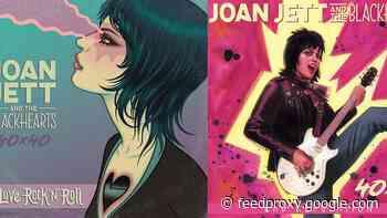 Joan Jett releasing 'Bad Reputation' / 'I Love Rock n' Roll' 40th anniv graphic novels w/ new vinyl & more