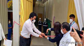 Chosica: Inauguran primera Planta Generadora de Oxígeno en Lima Este - ElPopular.pe
