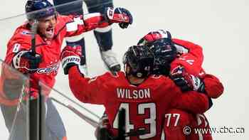 Dowd scores OT winner as Capitals take Game 1 against Bruins