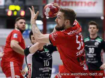 Handball, 2. Bundesliga: TuS N-Lübbecke schlägt den ASV Hamm-Westfalen 22:20: TuS zittert sich zum Heimsieg - TuS N-Lübbecke - Westfalen-Blatt