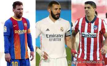 Barcelona, Real Madrid y Atlético de Madrid, ¿qué necesitan para ganar La Liga española? - Milenio