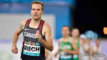 Canada's Nate Riech lowers his Paralympic world record in 1,500m at California meet