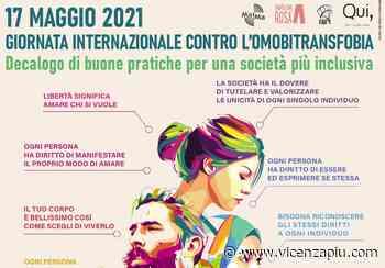 Giornata Internazionale contro l'omofobia, la bifobia, la transfobia: a Valdagno un decalogo per una società più inclusiva affisso in diverse parti della città - Vipiù - Vicenza Più