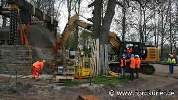 Mammut-Projekt in Altentreptow: Großer Stein ist deutlich schwerer als gedacht | Nordkurier.de - Nordkurier