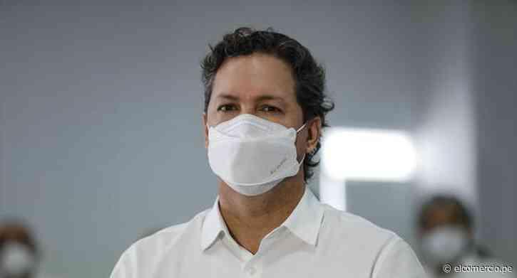 """Daniel Salaverry: """"A título personal respaldo la propuesta de Castillo y los compromisos que ha asumido"""" - El Comercio Perú"""