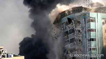 'Shocking and horrifying': Israel destroys AP office in Gaza