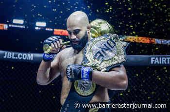 Former UFV wrestling coach wins MMA championship - Barriere Star Journal