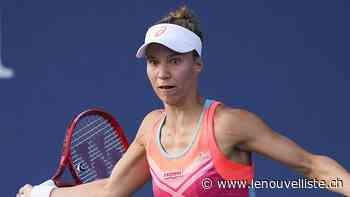 Tennis: Viktorija Golubic remporte le tournoi de St-Malo - Le Nouvelliste