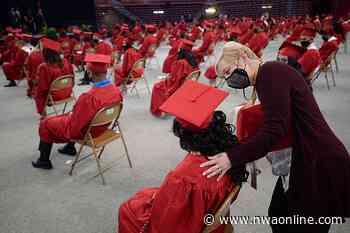 GALLERY: Springdale High 2021 Graduation - Northwest Arkansas Democrat-Gazette