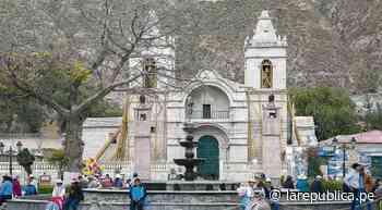 Arequipa: Remodelarán iglesia construida en el siglo XVIII en Chivay   lrsd - LaRepública.pe