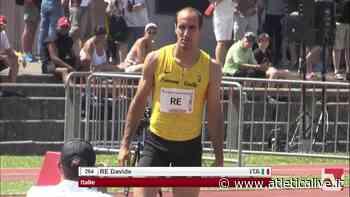 Rieti: Davide Re migliora 62 centesimi sui 300 - Queen Atletica