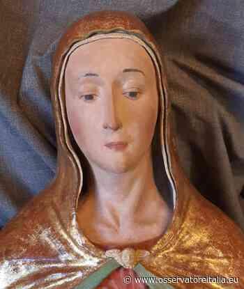 Rieti, restaurata la scultura della Madonna del Soccorso: ora è a prova di eventi sismici - L'Osservatore d'Italia