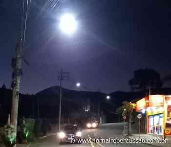 Nova Hartz inicia instalação de lâmpadas LED nas ruas de maior fluxo - Jornal Repercussão
