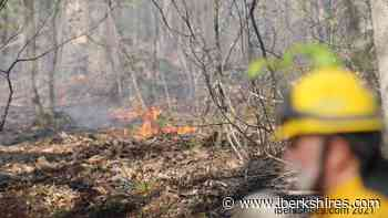 UPDATE: Williamstown Forest Fire Fight to Continue into Sunday - iBerkshires.com