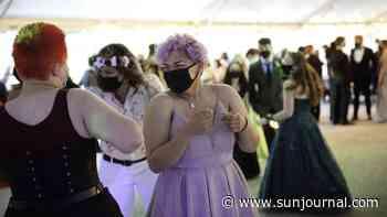 "Photo Album: Edward Little holds masked magical ""Enchanted Forest"" prom - Lewiston Sun Journal"