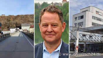 Florian Schneider über die Alte Brücke, das Salzachzentrum und die B20-Ortsumfahrung