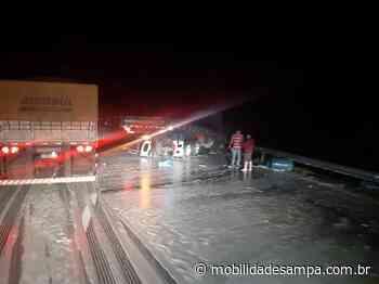 Acidente envolvendo caminhão na rodovia Régis Bittencourt em Barra do Turvo - Mobilidade Sampa