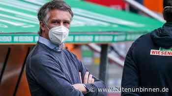 Und wieder wackelt Werders Trainerstuhl - Kohfeldt vor dem Aus