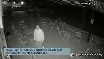 Comerciantes de Sarzedo (MG) denunciam série de furtos e roubos - HORA 7