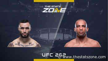 MMA Preview – Shane Burgos vs Edson Barboza at UFC 262 - The Stats Zone