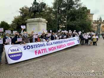 Vale Verona, un flash mob per sostenere famiglia e natalità - Daily Verona Network - Daily Verona Network