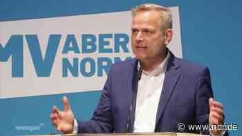 AfD-Parteitag: Leif-Erik Holm zum Spitzenkandidaten gewählt - NDR.de