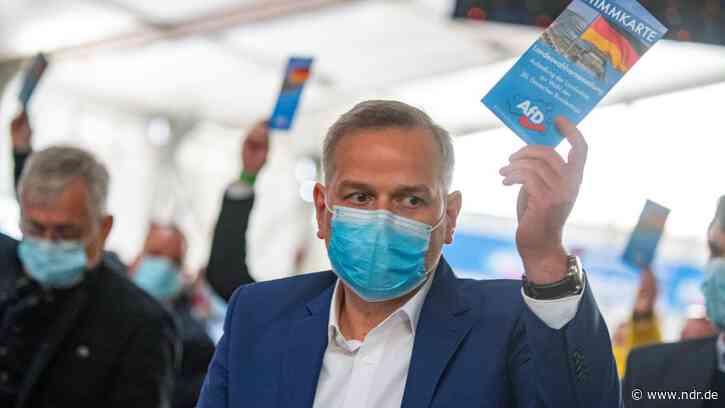 Landes-AfD bestimmt Holm als Bundestagswahl-Spitzenkandidat - NDR.de