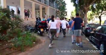 Israele, la fuga e la ricerca di un rifugio mentre le sirene suonano per i razzi in arrivo – Video