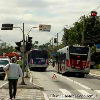 Acidente envolvendo ônibus na Avenida Francisco Morato - Mobilidade Sampa