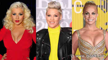Pink Addresses Rumored Rivalry With Britney Spears & Christina Aguilera - iHeartRadio